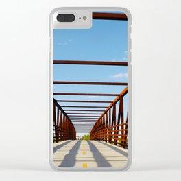 Basket Bridge Clear iPhone Case