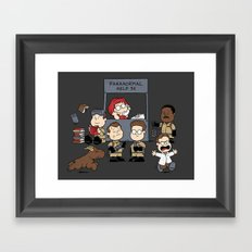 The Busters Are In! Framed Art Print