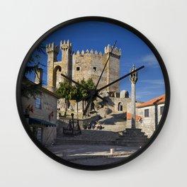 Penedono castle, Portugal Wall Clock