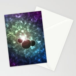 Space Scene One Stationery Cards