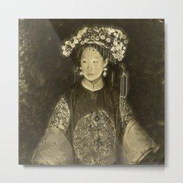 Manchu Bride Metal Print