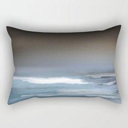 Midnight Waters Rectangular Pillow