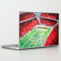 ohio state Laptop & iPad Skins featuring Ohio State Buckeyes by Emily Kenney