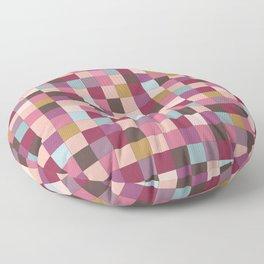 Crossroads in Pink Floor Pillow