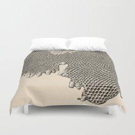 Honeycomb Frame Duvet Cover