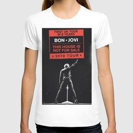 bon jovi uk tour 2019 halim T-shirt