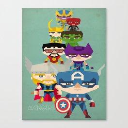 avengers 2 fan art Canvas Print