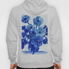 blue stillife Hoody
