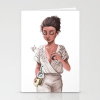 classy Stationery Cards featuring Classy by Laia™
