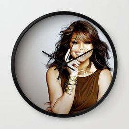 Janet Jackson - Celebrity Art Wall Clock