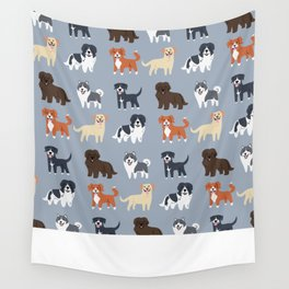 CANADIAN DOGS Wall Tapestry