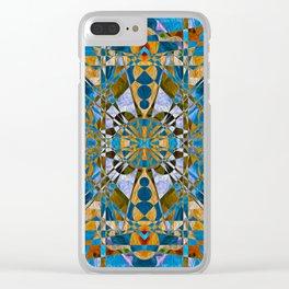 qu17t3d Clear iPhone Case