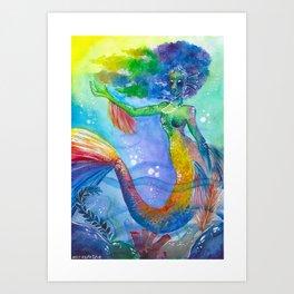 Ula Art Print