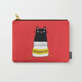 FUR ANTIDEPRESSANT Carry-All Pouch