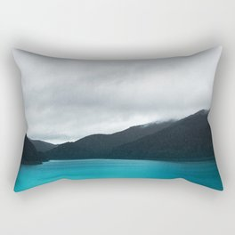 The Waters And The Wild Rectangular Pillow