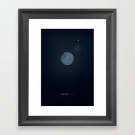 Another Earth alternative movie poster Framed Art Print