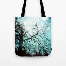 Winter Tree Holga Tote Bag