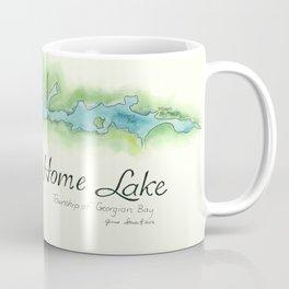 Go Home Lake - Nature Map Coffee Mug