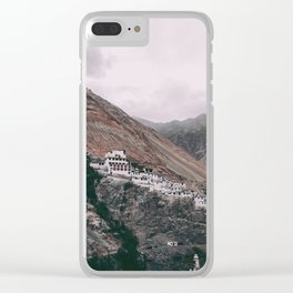 Diskit Monastery Clear iPhone Case