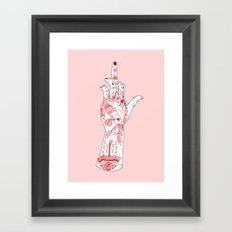 RUDE Framed Art Print