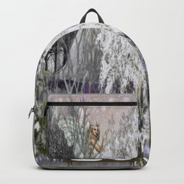 The Magic Of A Winter Day Backpack