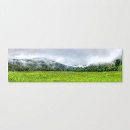 Mountain Mists Canvas Print