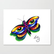 Butterfleyes Canvas Print
