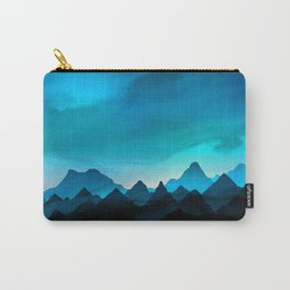 Night Storm In The Mountains Carry-All Pouch