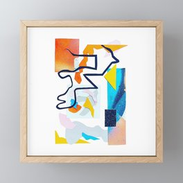 Cool heat wave Framed Mini Art Print