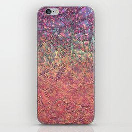 Sparkley Grunge Relief Background G179 iPhone Skin