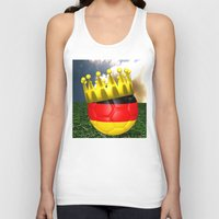world cup Tank Tops featuring World Cup Champion 2014 by Littlebell