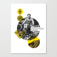 You Can Quote Me - Hunter S. Thompson Canvas Print