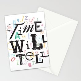 Time Will Tell Stationery Cards