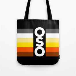 Oso / Bear Flag for LGBT pride or Bear Week Tote Bag