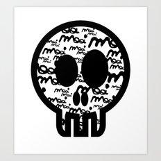 MOOIMOOI SKULL Art Print