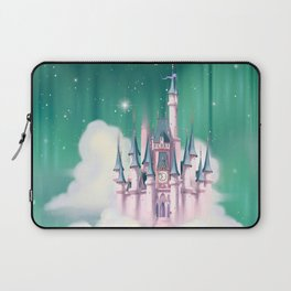 Star Castle In The Clouds Laptop Sleeve