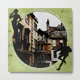 Jesper and Wylan - Every Time Metal Print