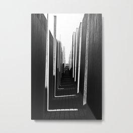 Holocaust Shadows Metal Print