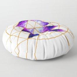 Nebula Hunter Sigil Floor Pillow