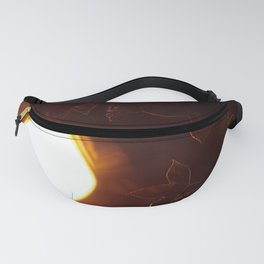 Leaves that shine under the lights Fanny Pack