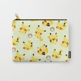 kawaii pika pattern Carry-All Pouch