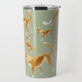 Ginger dingo pattern Travel Mug