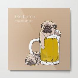 Go Home Metal Print