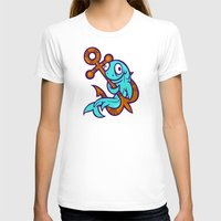 anchors T-shirts featuring Anchors Aweigh by Artistic Dyslexia