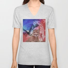 Native American Indian Unisex V-Neck