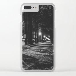 Urban / Streetlight / Night / Photography Clear iPhone Case