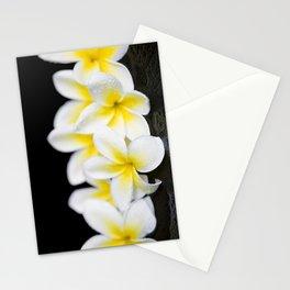 Plumeria obtusa Singapore White Stationery Cards