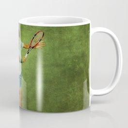 Roger Federer Tennis Backhand Coffee Mug