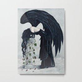 Despair Gothic Angel Metal Print