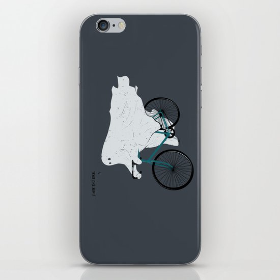 Negative Ghostrider G iPhone & iPod Skin